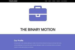 THE BINARY MOTION