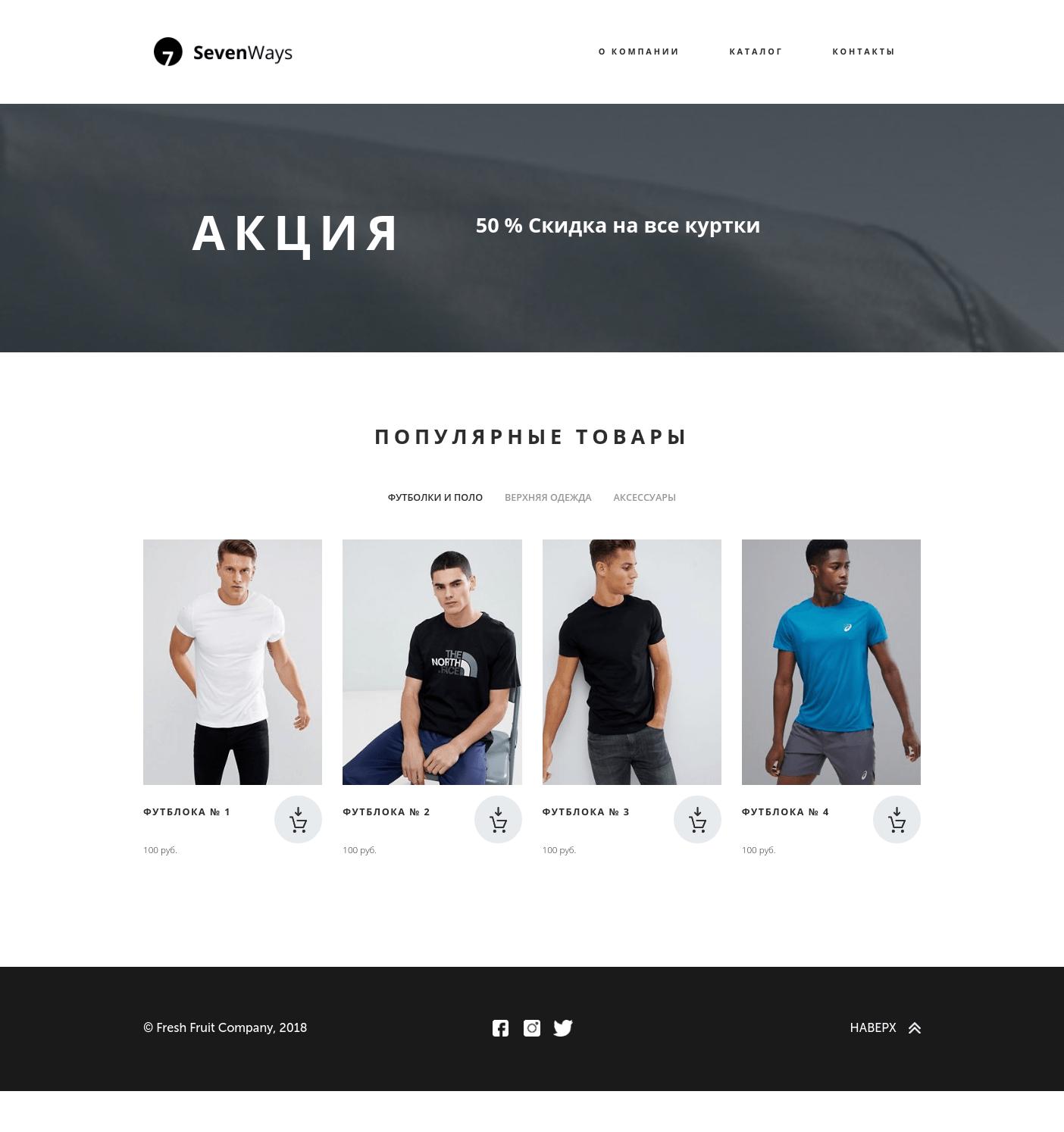 Новые возможности Фо.РУ - Полноценный интернет магазин.